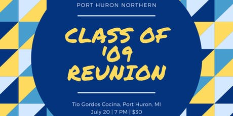 Port Huron Northern's Class of 2009 Reunion! tickets