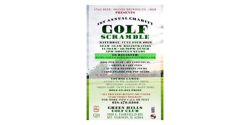 1ST ANNUAL CHARITY GOLF SCRAMBLE