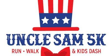 Uncle Sam 5k Volunteer Sign Up 2019 tickets