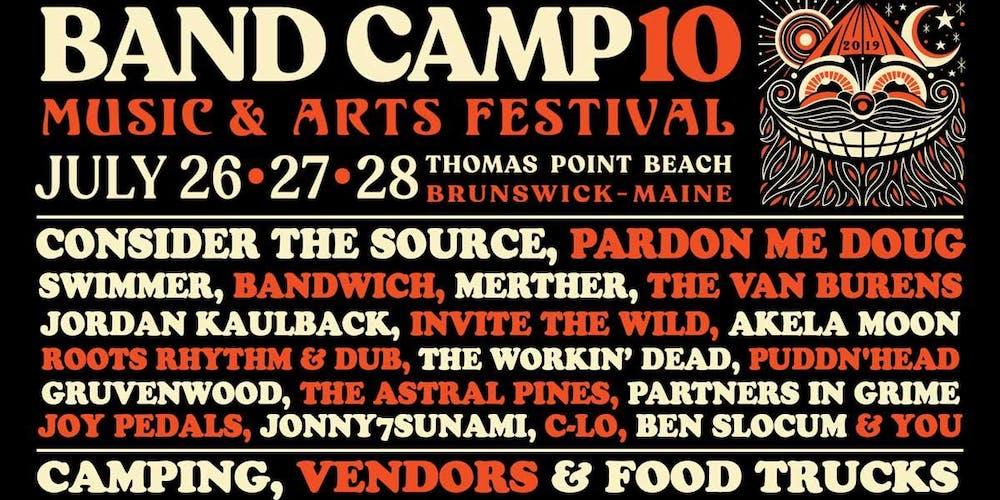 8199c001a35 BAND CAMP 10, July 26, 27 28, Thomas Point Beach & Campground Tickets, Fri,  Jul 26, 2019 at 4:00 PM | Eventbrite