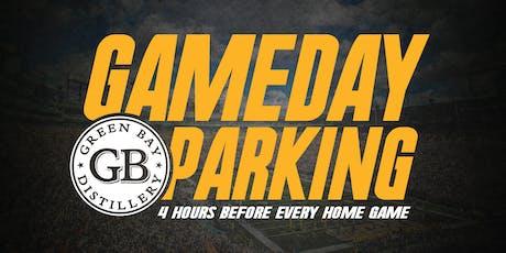 August 8th - Preseason Parking tickets