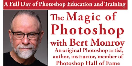 The Magic of PHOTOSHOP —— A day of training with Bert Monroy tickets