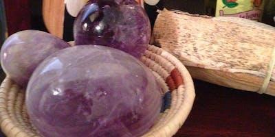 Energy Talks with Maestra Paula~ Sacred Obsidian, Rose Quartz and Amethyst~ Downtown Mesa