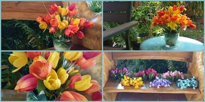 Make an Artificial Tulip Floral Arrangement Workshop