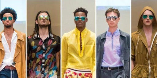 """NY  FASHION WEEK MEN'S SHOW  PRESENTED BY """"FASHION SIZZLE"""""""