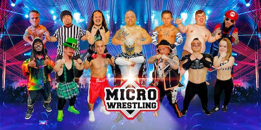 All-New All-Ages Micro Wrestling at Herrin Civic Center!