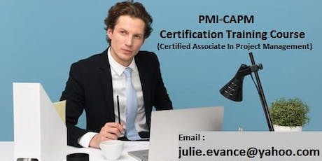 Certified Associate in Project Management (CAPM) Classroom Training in Bathurst, NB tickets