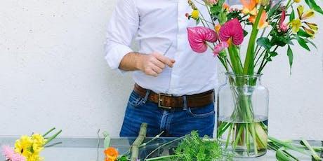 Curso Cómo hacer un Ramo de Flores: Nivel Básico tickets