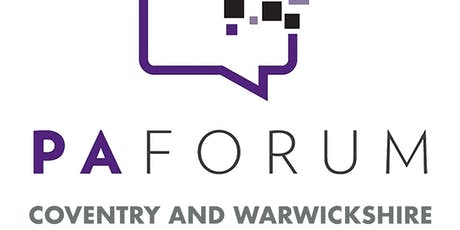 Coventry and Warwickshire PA Forum - Summer Social tickets