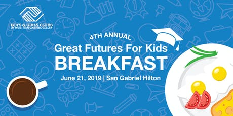Great Futures for Kids Breakfast tickets