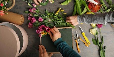 Curso de Centros Florales Basico entradas