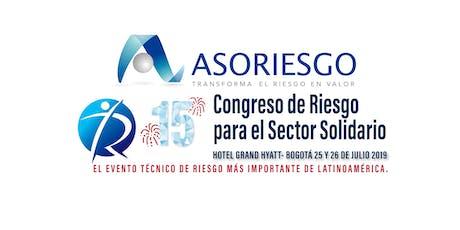 XV Congreso de Riesgo para el Sector Solidario entradas