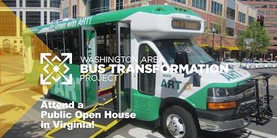 Bus Transformation Project Public Open House in Arlington, Virginia