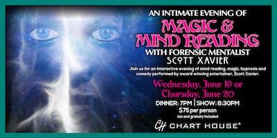 Chart House Mentalist Dinner- Atlantic City, NJ