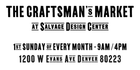 The Craftsman's Market tickets