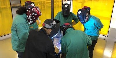 Women Who Weld® Intro to MIG Welding Workshop at Northwestern Michigan College