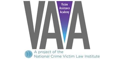 Oregon State Basic Victim Assistance Academy - Spring 2019 Salem