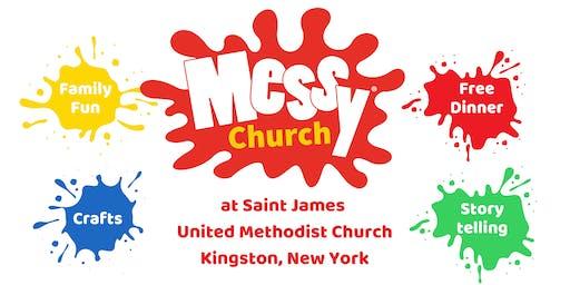 August 17 Messy Church at Saint James United Methodist Church