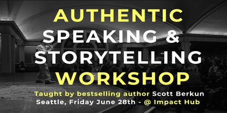Authentic Speaking and Storytelling Workshop (June '2019) tickets