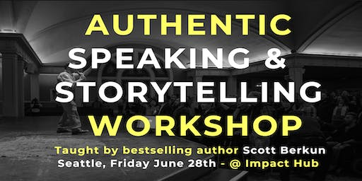 Authentic Speaking and Storytelling Workshop (June '2019)