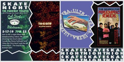 Skate Night at The Parkway with Cal Surf & Fulton Beer