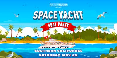 Space Yacht Boat Party 2019