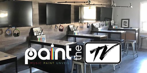 PAINT the TV: Sundays @ 10 AM - 12 (10+ w/ Adult) Rockaway, NJ