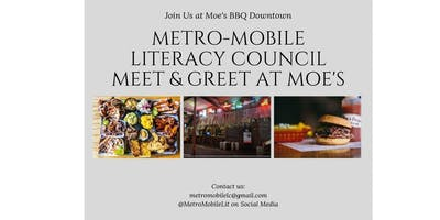 Metro-Mobile Literacy Council Meet & Greet at Moe's