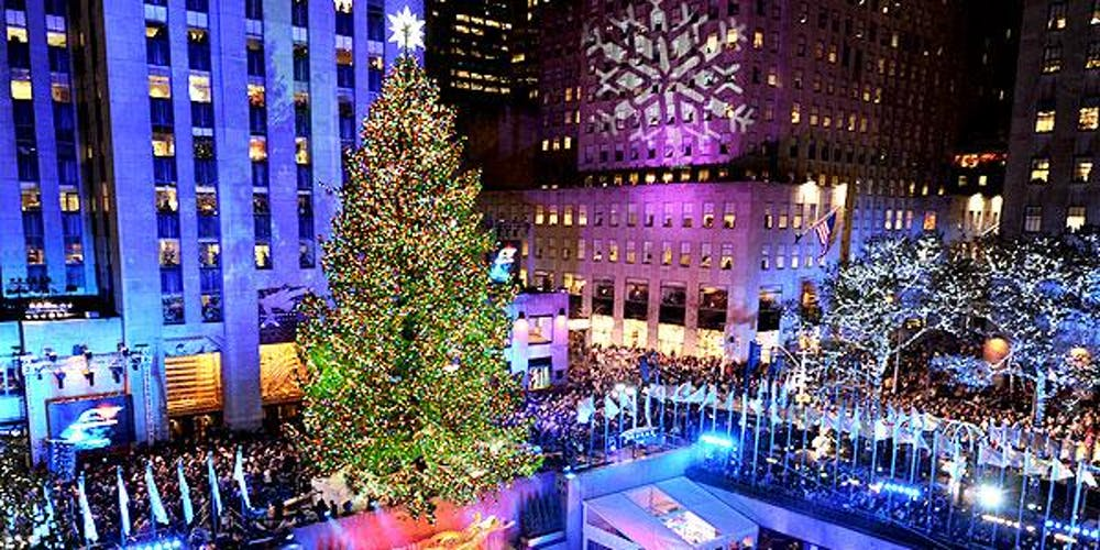 Lighting Of Rockefeller Christmas Tree.Tree Lighting Ceremony Dinner Gala At Rockefeller Center