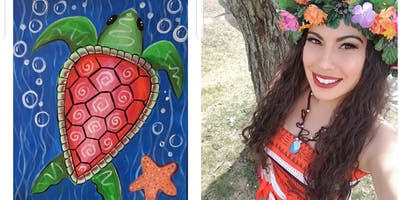 Family Sea Turtle Paint Event W/Moana-All Ages-Fall River