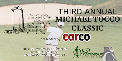 The Michael Tocco Golf Classic 2019