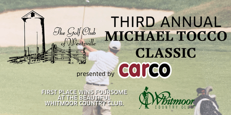 The Michael Tocco Golf Classic 2019 tickets
