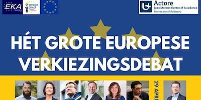 Het Grote Europese Verkiezingsdebat
