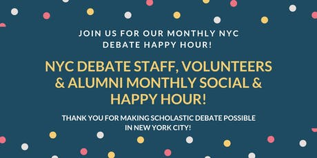 New York City Urban Debate League Events   Eventbrite