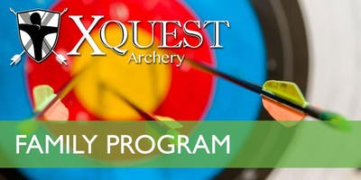 (NOV) Family 4-week Archery Instruction - Saturdays @ 9am [FA5-S9]
