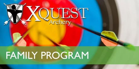 (NOV) Family 4-week Archery Instruction - Saturdays @ 9am [FA5-S9] billets