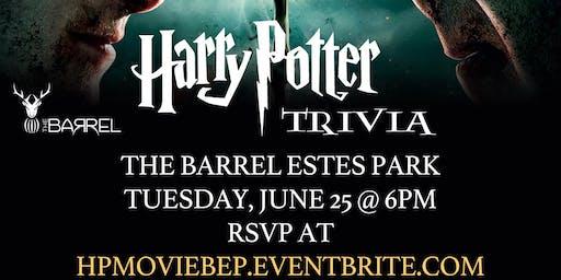 Harry Potter (Movie) Trivia at The Barrel Estes Park