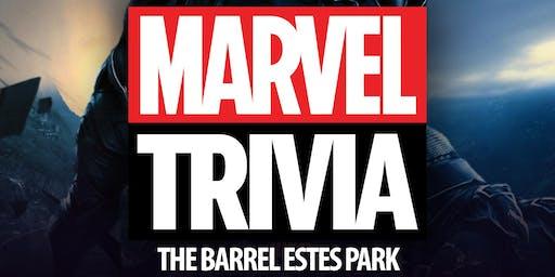 Marvel Cinematic Universe Trivia at The Barrel Estes Park