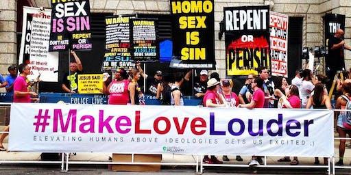 #MakeLoveLouder at 2019 Chicago Pride