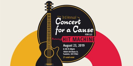 3rd Annual Concert for a Cause supporting LLS tickets