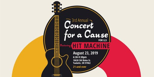 3rd Annual Concert for a Cause supporting LLS