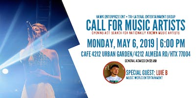 Opening Act Talent Search + Model Call - Houston - May Monday 6 2019 6