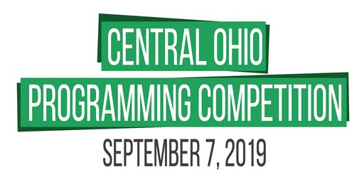 Central Ohio Programming Competition 2019