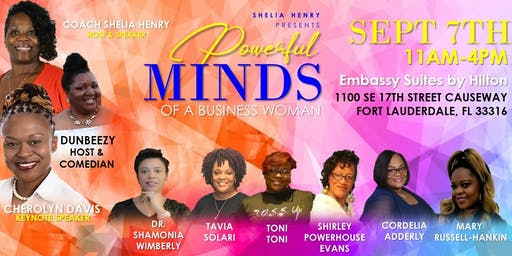 Powerful Minds of a Business Woman-Fort Lauderdale Florida
