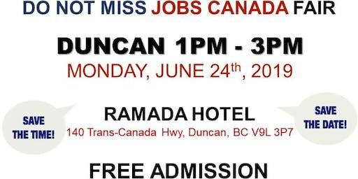 Duncan Job Fair - June 24th, 2019