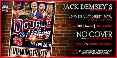 AEW Double or Nothing Viewing Party, presented by YEP! I Like Wrestling