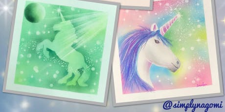 Enchanting Unicorn Workshop - A Pastel Nagomi Art Workshop by Simply Nagomi tickets