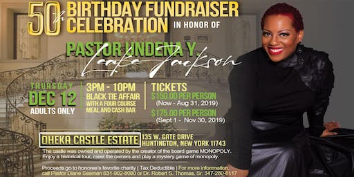 Pastor Undena's 50th Birthday Fundraiser Celebration