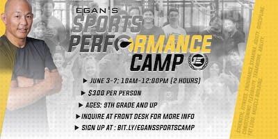 Egan Inoue's Sports Performance Camp