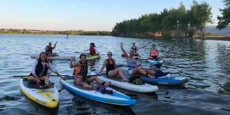 Women's social sunset and glow SUP! tickets